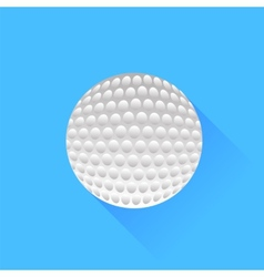 Colf ball vector