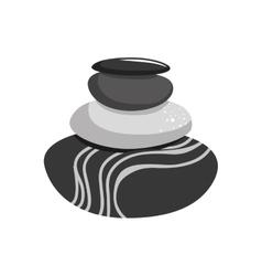 Stones icon Rocks design graphic vector image