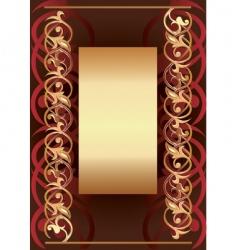 background frame vector image vector image