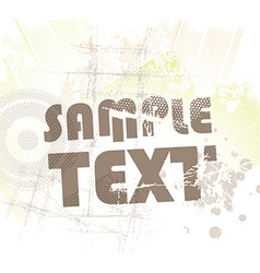 Grunge background for design vector