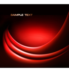 Red elegant abstract background vector image vector image