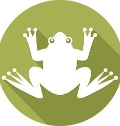 Frog Icon vector image
