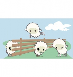 Little sheep's vector