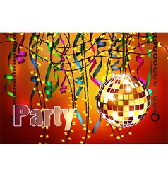 Concept of party celebration vector