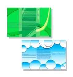 Brochure1 vector image