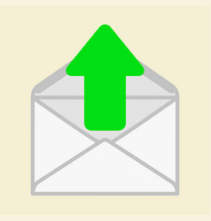 The arrow indicates the envelope vector