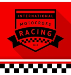 Racing stamp-14 vector