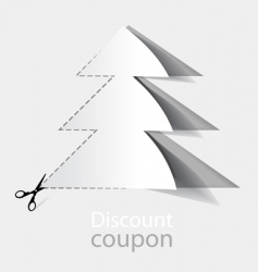 Advertising coupons vector