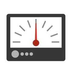 Electrical tester isolated icon design vector