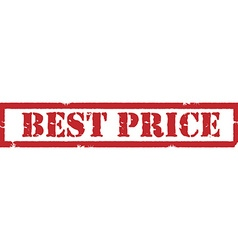 Best price stamp vector image vector image