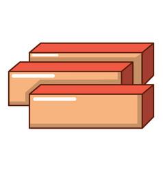 Board icon cartoon style vector
