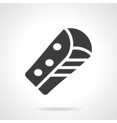Corn burrito glyph style icon vector