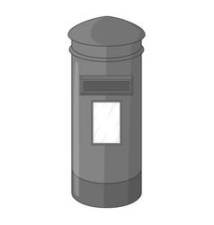 English inbox icon monochrome vector