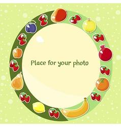 Fruit fame vector