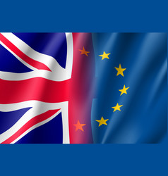 Symbol united kingdom is eu member vector