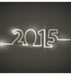 2015 metal texture background vector image vector image
