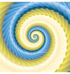 Color abstract spirals vector