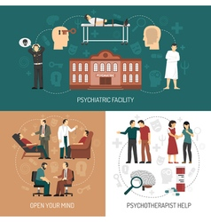 Psychologist design concept vector