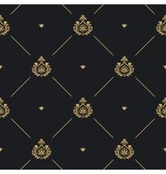 Royal wedding pattern vector image