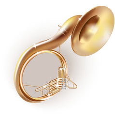 Classical sousaphone vector image