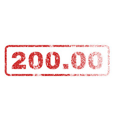 20000 rubber stamp vector image vector image