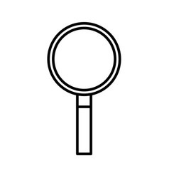 business magnifier search ecommerce find vector image