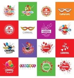 Carnival logo vector image vector image