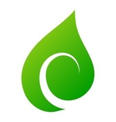 Leaf icon vector image vector image