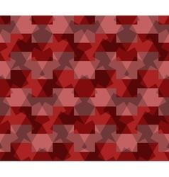 Seamless pattern abstract honeycomb mosaic vector image vector image