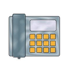 Telephone icon imag vector