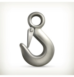 Lifting hook vector image vector image