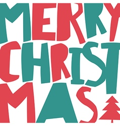 Merry christmas greeting background and christmas vector