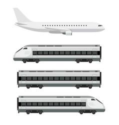 passenger transport vector image