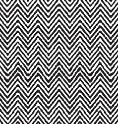 Hand drawing zigzag geometrical ethnic pattern vector