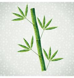Bamboo branch vector
