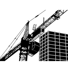 building construction vector image vector image