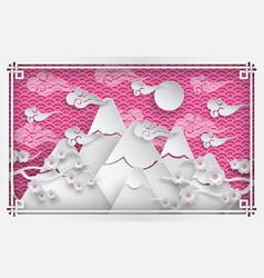 chinesenewyearpaper9 vector image