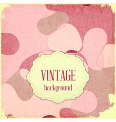 Grunge Rose background vector image vector image