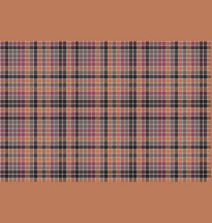 Mosaic check plaid pixel fabric texture seamless vector