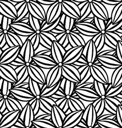 pattern of flowers vector image