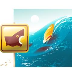 Shark attack vector