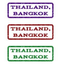 Thailand bangkok watermark stamp vector