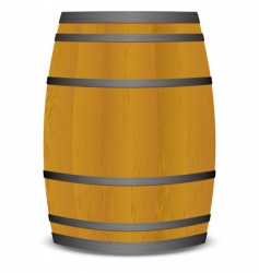 Beer keg barrel vector