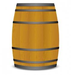 beer keg barrel vector image