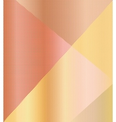 Beige orange geometric background vector