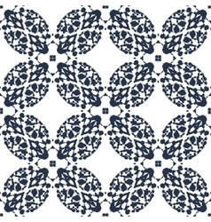 Seamless Print made of ink blots vector image