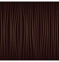 vertical curves brown vector image