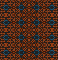Arabic traditional seamless pattern islamic vector image