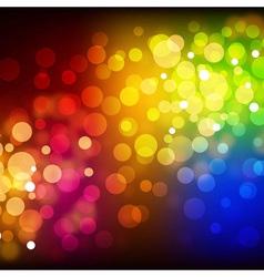 Beautiful defocused light background vector