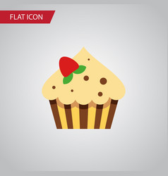 isolated sweetmeat flat icon confectionery vector image vector image